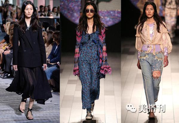 米兰纽约时装周我看的是刘雯,但是为什么火的是白骨精