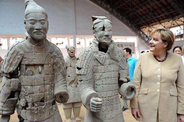 默克尔将第4次出任德国总理 她与中国结下深厚情缘