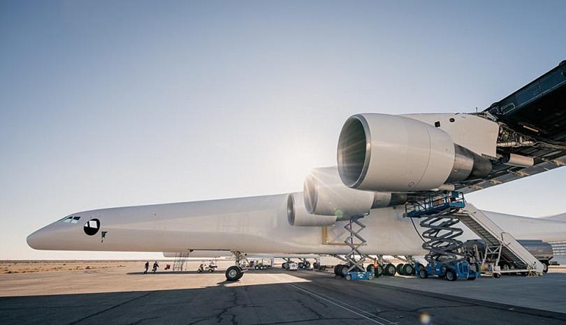世界上最大运输机测试,将在空中发射火箭