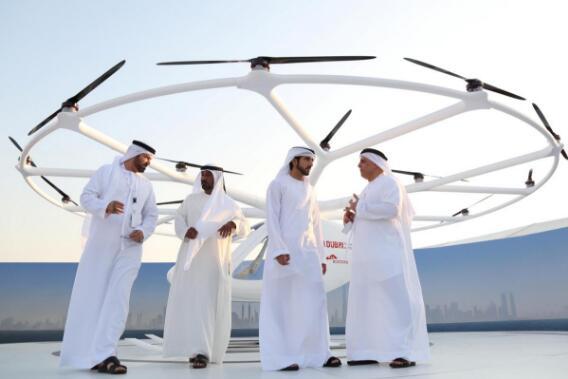 迪拜测试飞行出租车