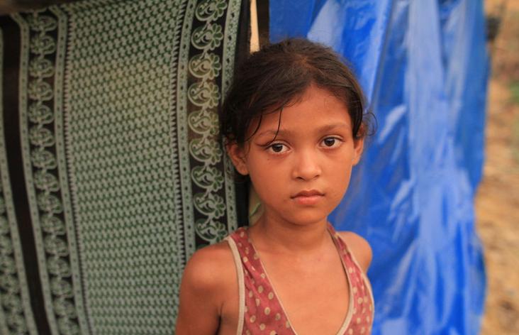 孟加拉国:摄影师记录难民营里的罗兴亚儿童