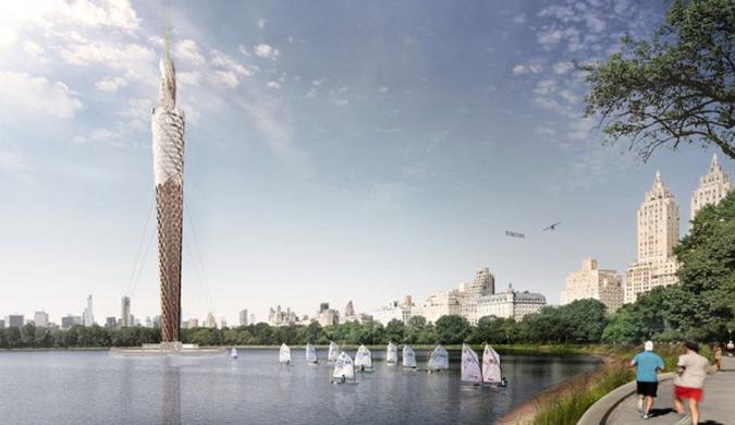 纽约DFA工作室计划建造一座全世界最高的木塔