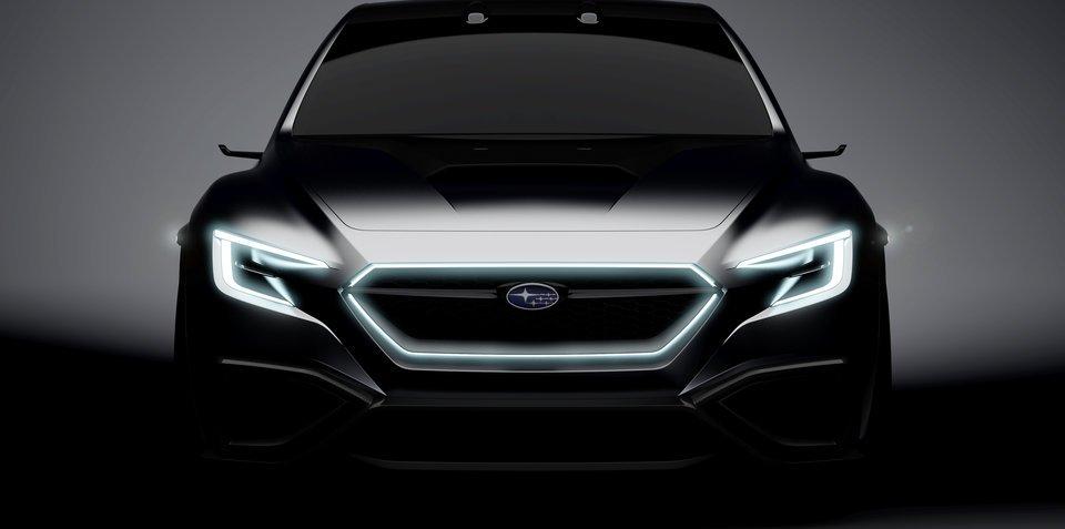 斯巴鲁VIZIV新概念车预告图发布 将亮相东京车展