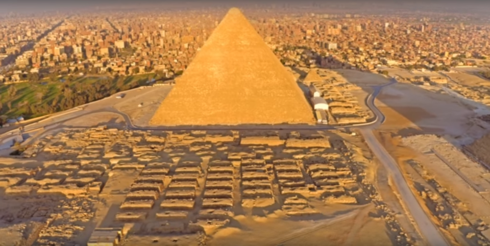 考古学家新揭秘埃及大金字塔建造之谜