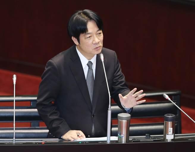 """赤裸裸!赖清德声称自己是主张""""台湾独立""""的政治工作者"""