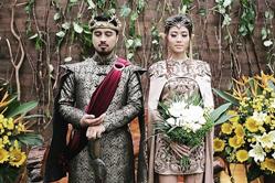 印尼新人办《权力的游戏》主题婚礼