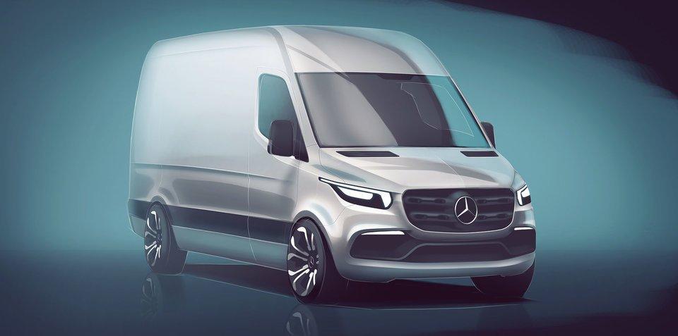全新奔驰凌特设计图公布 明年正式发布
