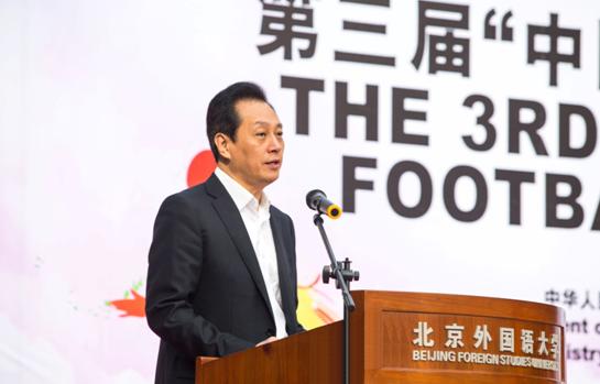 """第三届""""中国—北欧杯""""足球邀请赛落幕 外交部副部长王"""