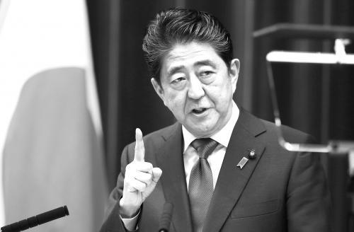 """导弹--安倍宣布为""""突破国难""""提前大选 被指企图""""锁定""""长期执政地位"""