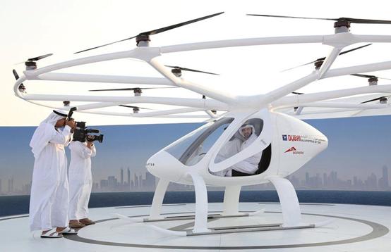 打飞的不是梦! 迪拜成功测试无人驾驶出租车