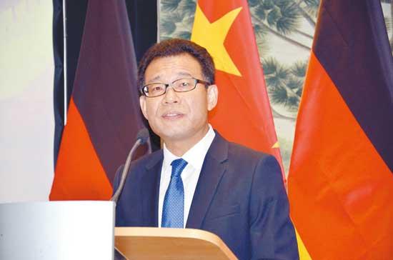 合作•友谊•共赢 ——访中国驻法兰克福总领事王顺卿