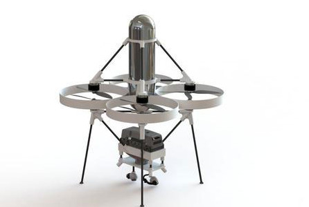 Jupiter-H2无人机:充电数分钟续航两小时