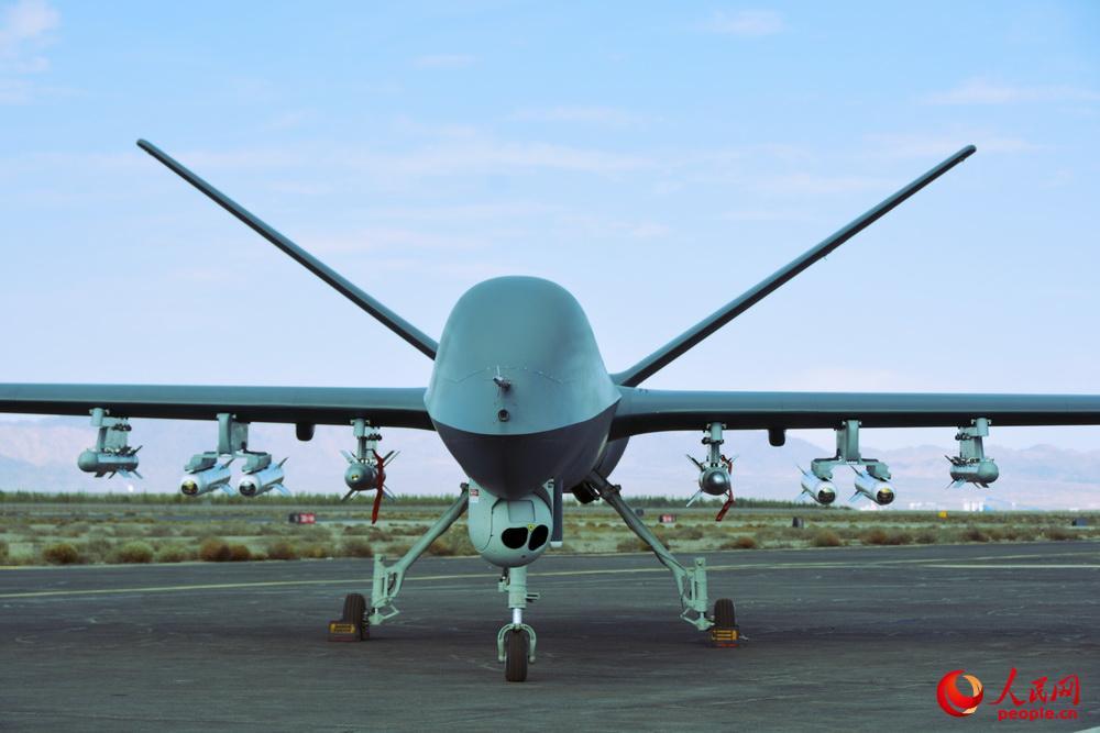简氏:彩虹5无人机试射新导弹 可灭8公里外目标