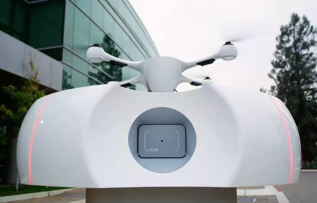 美研发快递无人机智能站点 破解续航与存取问题