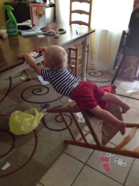 宝宝真的很心酸图片