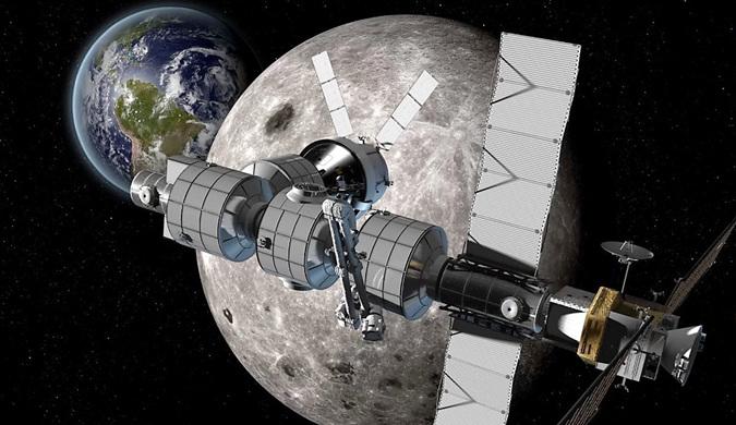 """美俄将合建""""月球空间站"""" 预计2020年动工"""