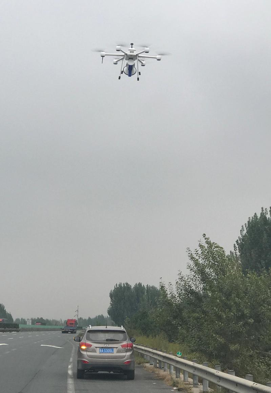 老司机注意啦!国庆期间济青南线启用无人机巡航