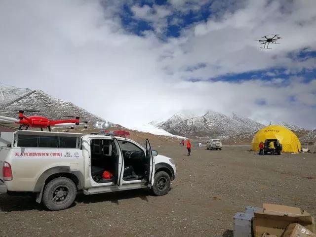 大载重消防多旋翼无人机的高原检测飞行成功