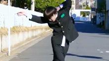 日本学生模仿迈克尔杰克逊 舞步惊艳众人