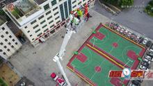 南宁一辆身价2500万元的登高消防车投入使用