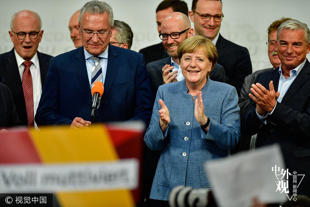 媒体:德国总理默克尔将开启四连任 中德友好仍是主旋律