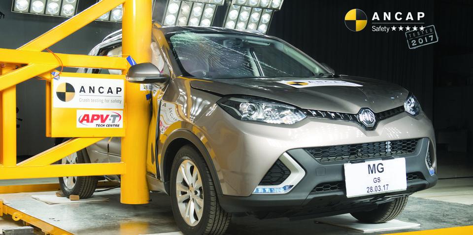 名爵锐腾成为首款获澳洲五星安全评级国产车