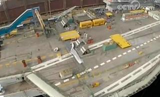 近距离感受国产航母建造速度