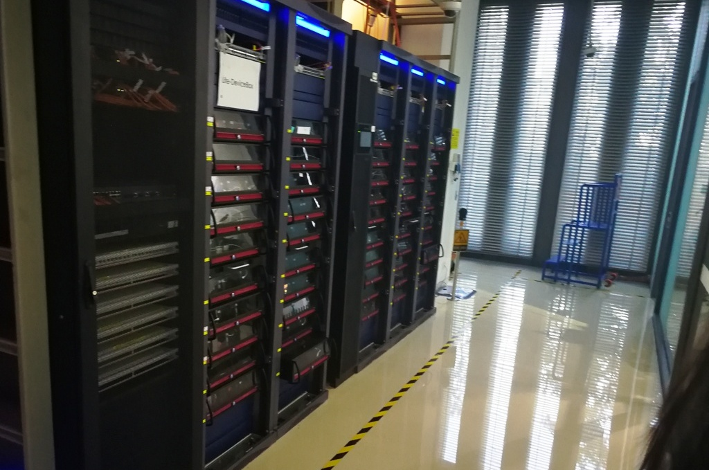 Huawei's mobile phone testing research and development facilities in Beijing, China