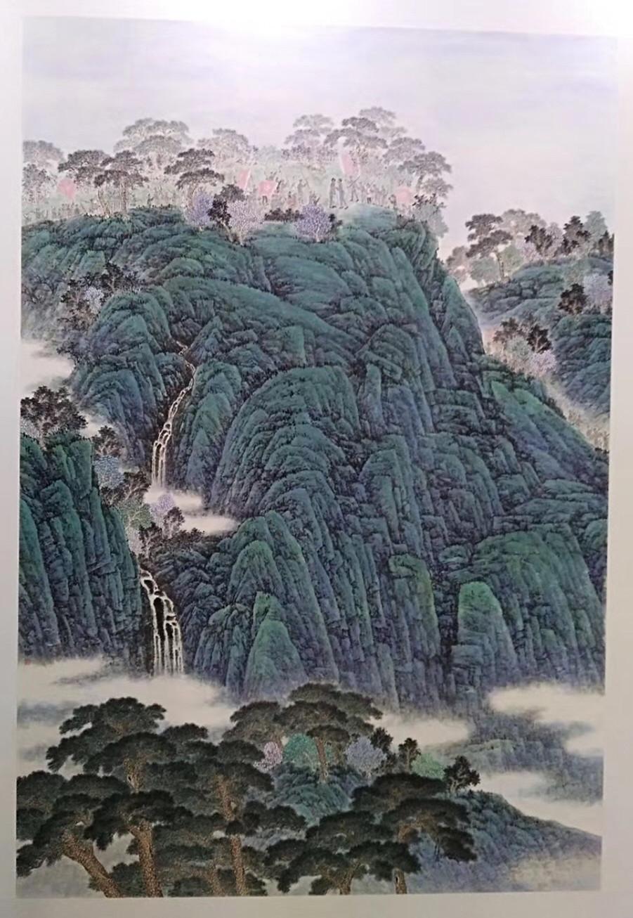 山东巨野工笔画 国庆黄金周亮相北京