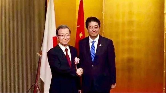 日媒:安倍上门给中国庆生 系15年来日本首相头一遭