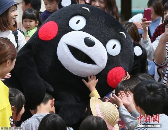 日媒:中国网友票选日本各地吉祥物 熊本熊败给群马酱