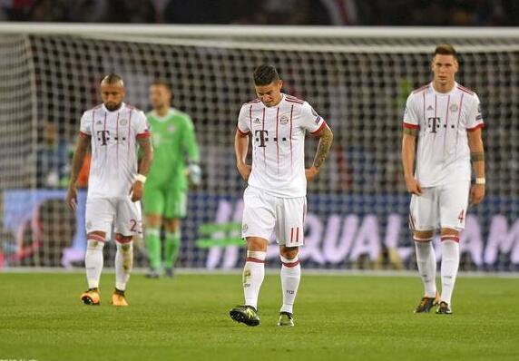 尴尬了!德甲6队本轮欧战全输球 36年前窘境重现
