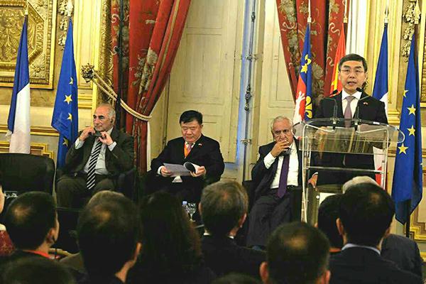 西安明年将举办第三届中法文化论坛
