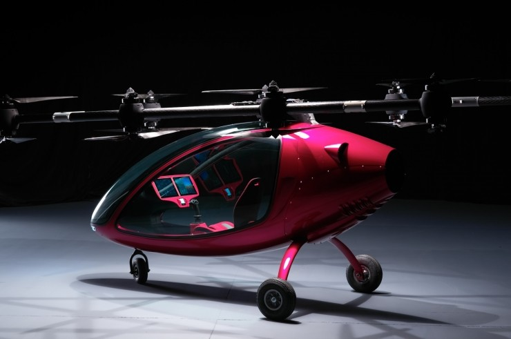 瑞士载人无人机试飞