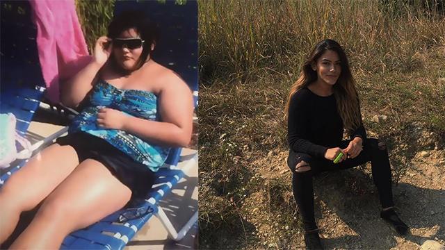 从101公斤的女胖子到女神,她用了不到2年时间完成转变!