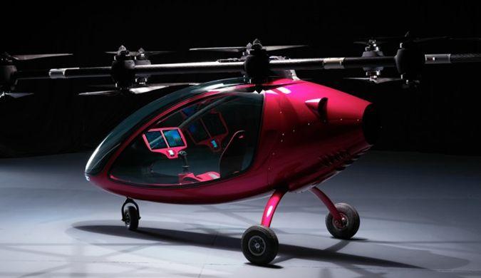 """瑞士""""载客无人机""""完成首次试飞 最快80公里/小时"""