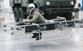 不造AK改行了?卡拉什尼科夫推出单兵飞行摩托