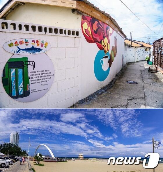 带着相机和好心情 去韩国壁画村领略秋日风情吧
