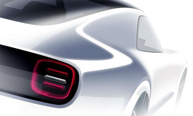 本田发布全新电动概念车预告图 将亮相东京车展