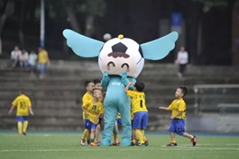 """忙碌在蓉渝德比一线的志愿者,他们叫做""""重庆高校足球后援团"""""""