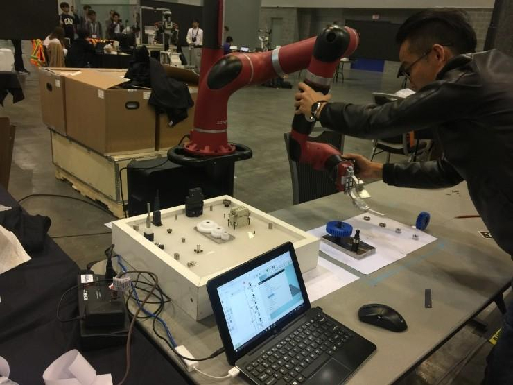 IROS 2017:这场机器人比赛 决定成败的还是人