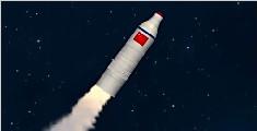 长征火箭成功送三颗卫星上天