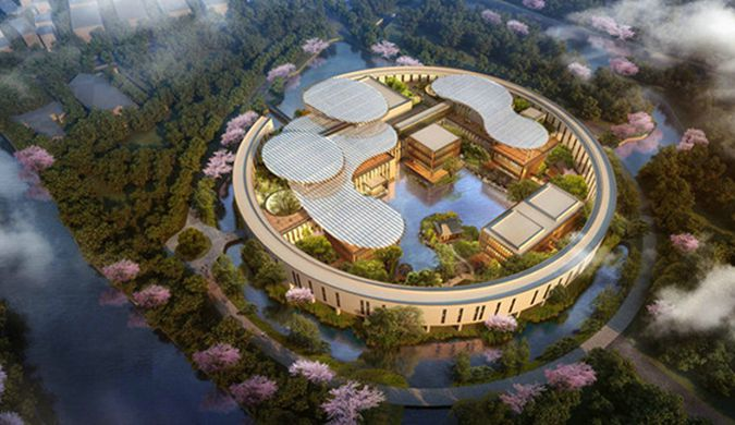 马云的湖畔大学开建 设计师来自台湾2019年建成