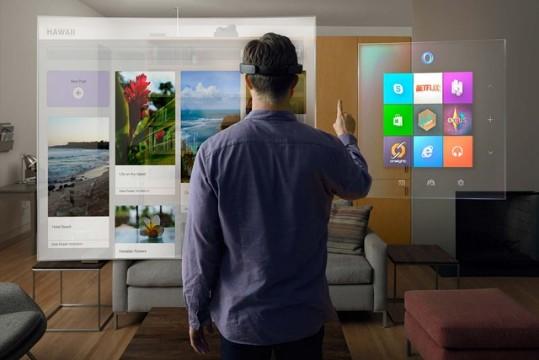 微软能凭借HoloLens在AR领域赢过苹果和谷歌吗?