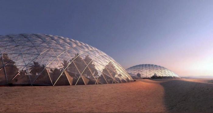 """世界上最大太空模拟城市 迪拜""""火星科学城""""曝光"""