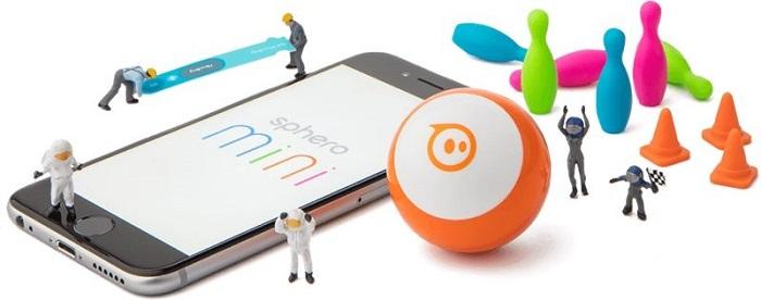 Sphero推出迷你款球形机器人 售价49.99美元