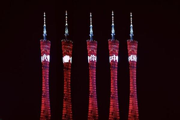 我爱你中国!对祖国的表白留在了这些地方
