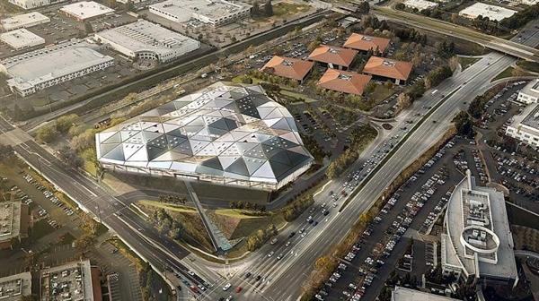 英伟达加州新总部大楼曝光:不输苹果
