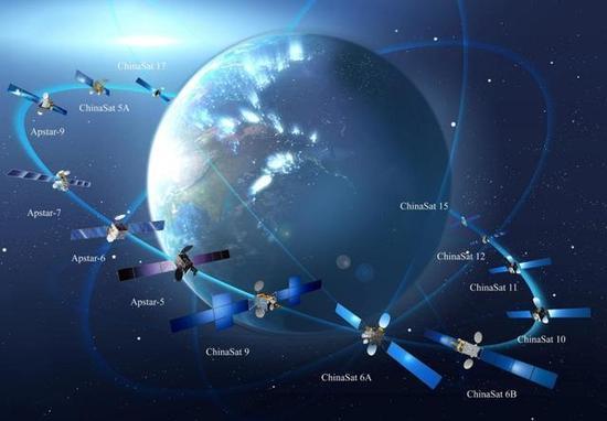 中国发射超级卫星 以后飞机高铁可高速上网了