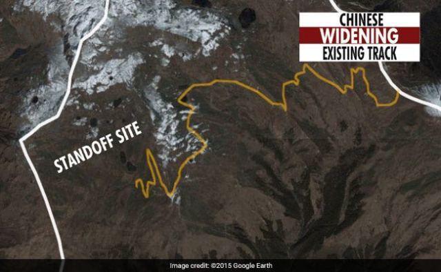 印媒標出的中方修路路線圖
